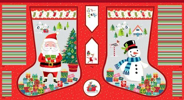 Makower Large Santa Stocking