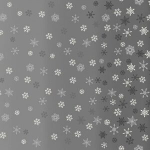 Makower Ombre Snowflake